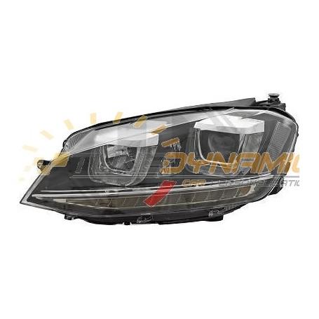 Black background optical kit for Volkswagen Golf 7