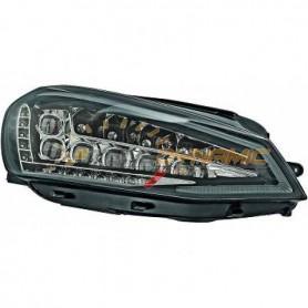 Kit optique full LED fond noir pour Volkswagen Golf 7