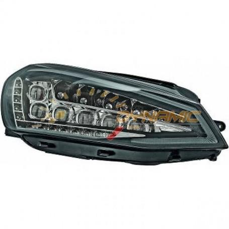 Full LED black background optical kit for Volkswagen Golf 7