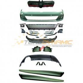 Full body kit look GTI for Volkswagen Golf 7 sedan