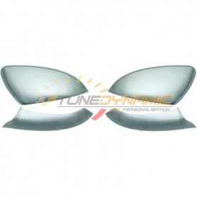 Matte chrome rearview mirror shell kit for Volkswagen Golf 7
