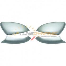 Matte chrome rearview mirror shell kit for Volkswagen Golf 7