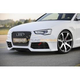 Prise d'air côté gauche noir brillant pour pare-chocs avant Rieger pour Audi A3/S3 type 8V