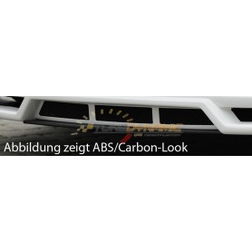 Carbon-look blade for Rieger front bumper for Seat Leon 5F FR/Cupra