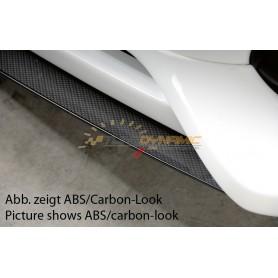 Lame noire pour ajout de pare-chocs avant Rieger pour Audi A4 type B8/B81