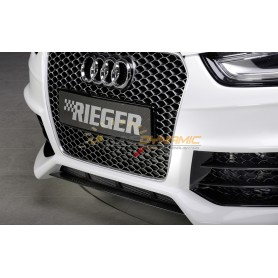 Rieger front bumper black blade for Audi A4/S4 type B8/B81