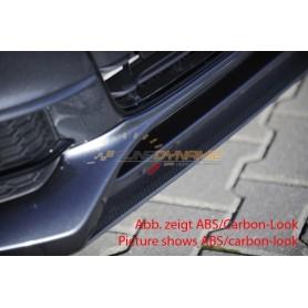Lame noire pour ajout de pare-chocs avant Rieger pour AUDI A4/S4 type B8/B81 S-Line