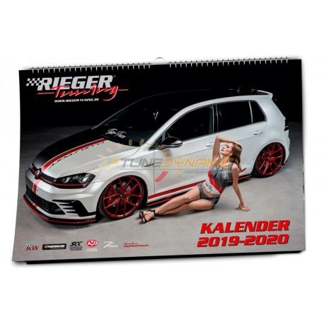 Rieger 2019-2020 panoramic calendar
