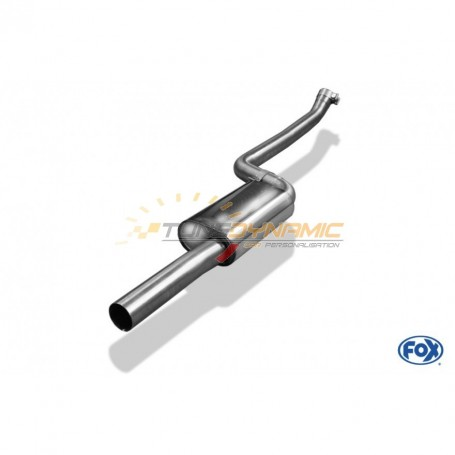 Silent stainless steel front for BMW SERIE 1 114i/116i F20/F21