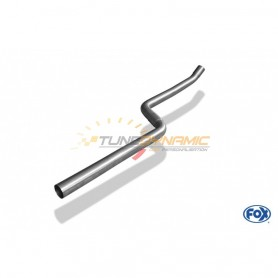 Stainless front silencer removal tube for BMW SERIE 1 114i/116i F20/F21