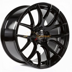 "JANTE Z-PERFORMANCE ZP.01 CONCAVE GLOSS BLACK 9x19"" - 5x120 - ET45 - Ø72.6mm"