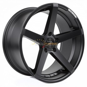 "JANTE Z-PERFORMANCE ZP.06 DEEP CONCAVE MATT BLACK 8.5x19"" - 5x120 - ET35 - Ø72.6mm"