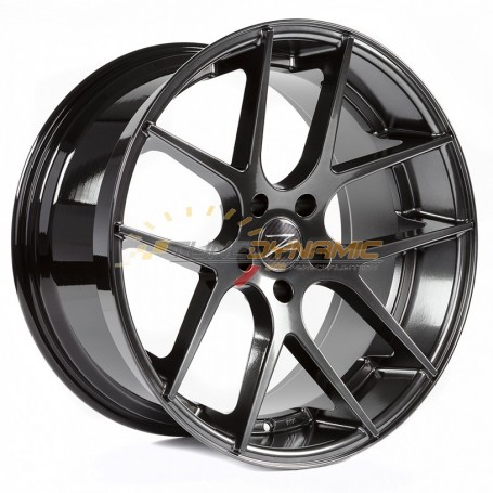 "JANTE Z-PERFORMANCE ZP.07 DEEP CONCAVE HYPER BLACK 9.5x19"" - 5x120 - ET40 - Ø72.6mm"
