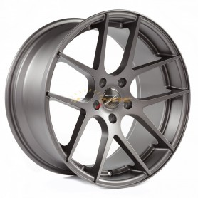 "RIM Z-PERFORMANCE ZP.07 DEEP CONCAVE MATT GUNMETAL 9x18"" - 5x120 - ET38 - '72.6mm'"