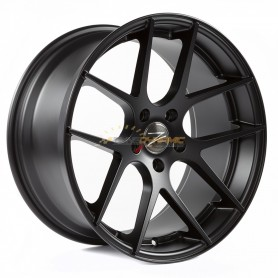 "JANTE Z-PERFORMANCE ZP.07 DEEP CONCAVE MATT BLACK 9.5x19"" - 5x120 - ET35 - Ø72.6mm"