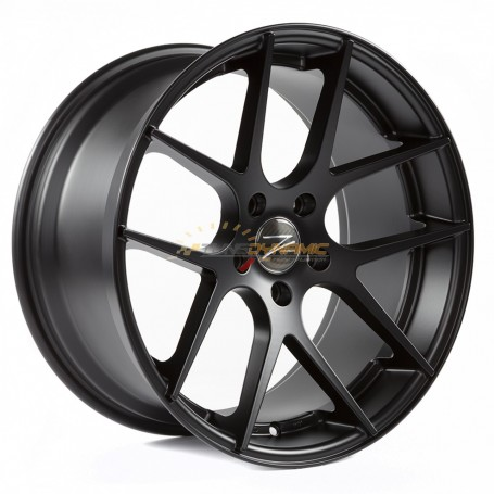 "RIM Z-PERFORMANCE ZP.07 DEEP CONCAVE MATT BLACK 9.5x19"" - 5x120 - ET35 - '72.6mm'"